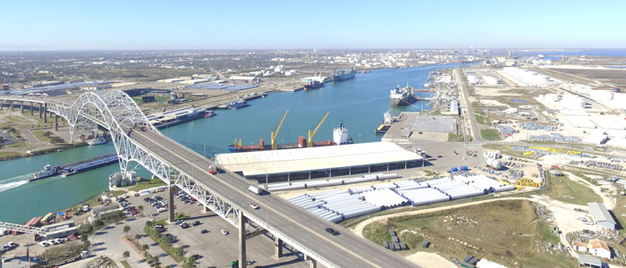 Corpus Christi Port and Harbor Bridge